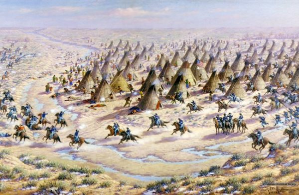 <div>This Day in History – November 29, 1864: 133 Cheyenne & Arapaho Massacred at Sand Creek</div>