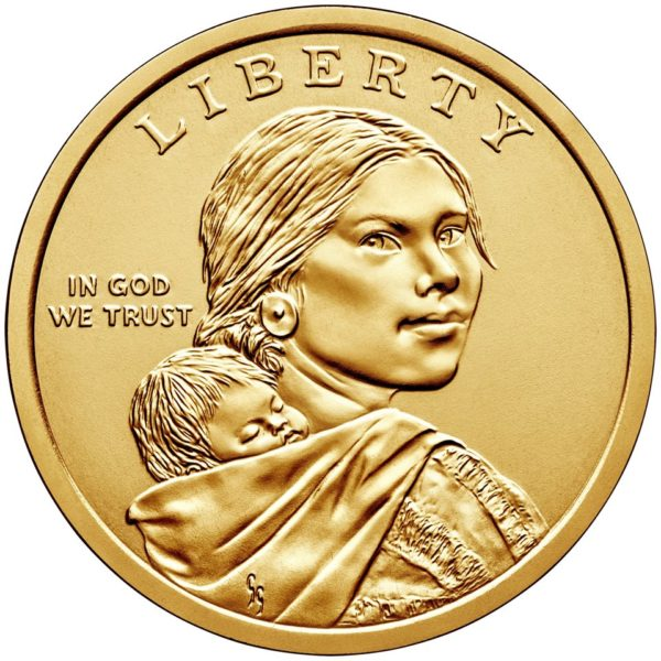 United States Mint Unveils Design for 2019 Native American $1 Coin Reverse