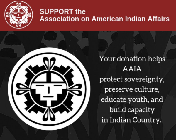Year End Giving: Association of American Indian Affairs Working to Protect Sovereignty & Preserve Culture