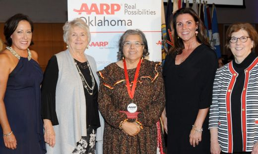 AARP Honors Three Chickasaw Citizens