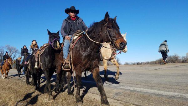 Dakota Water Walk and Prayer Ride Journeys to Mankato, Minnesota