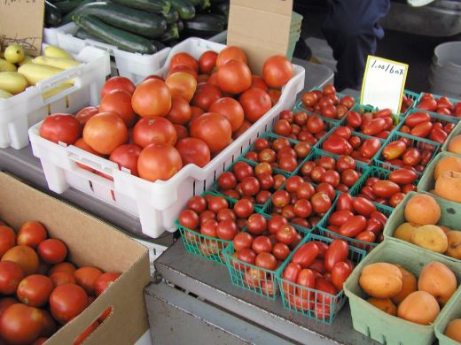 Fruits and Vegetables Provided to Chickasaw Seniors through Winter