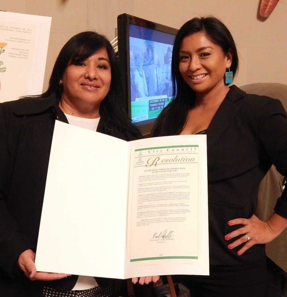 City of Oakland Officially Recognizes Indigenous Peoples' Day