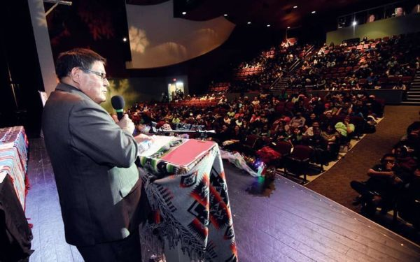 Competition and Integrity Follow Navajo Nation Council Speaker LoRenzo Bates