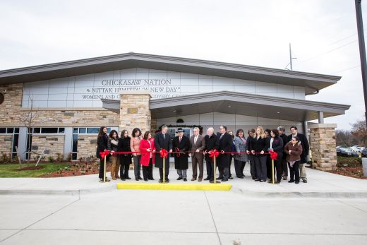 Chickasaw Nation Nittak Himitta′ Women's and Children's Recovery Center Dedicated