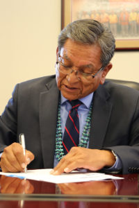 Navajo Nation President Commends Passage of Tribal Energy Bill