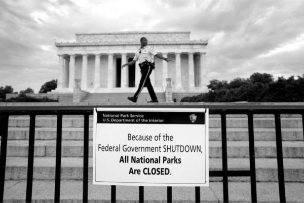 The Wall Forces a Partial Federal Government Shutdown