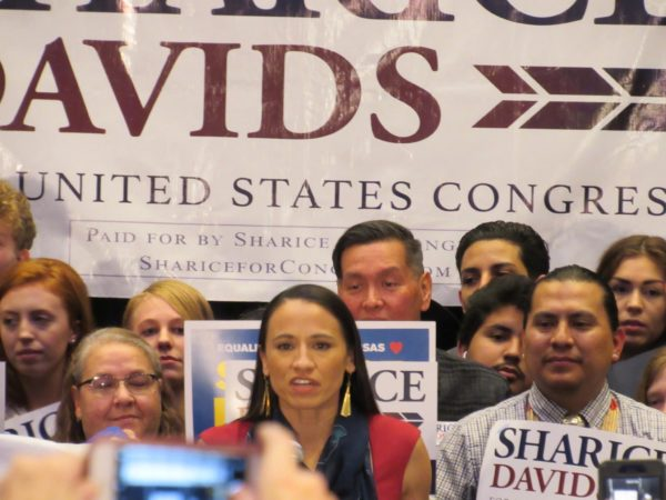Rep.-Elect Sharice Davids (Ho-Chunk Nation) Elected as Regional Whip by Colleagues