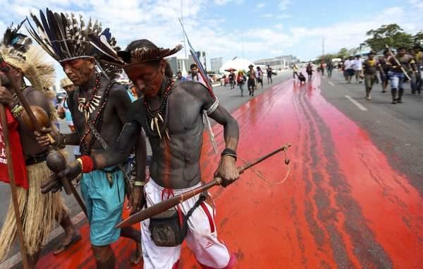 President Bolsonaro 'Declares War' on Brazil's Indigenous Peoples – Survival responds