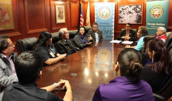 New Navajo Administration Declares Navajo Nation Suicide Prevention Week
