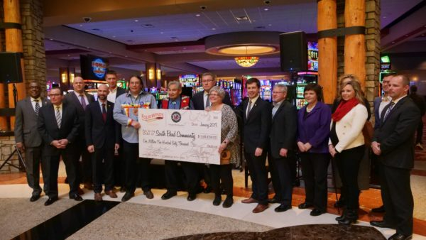 Pokagon Band Gives $1.56 Million to Area Agencies
