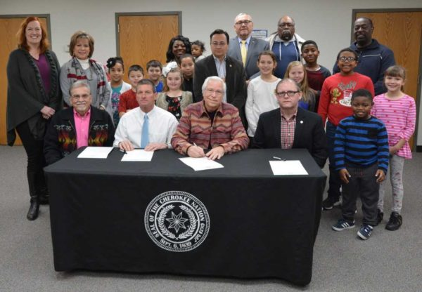 Housing Authority of the Cherokee Nation Receives Surplus Land from Vinita Public Schools