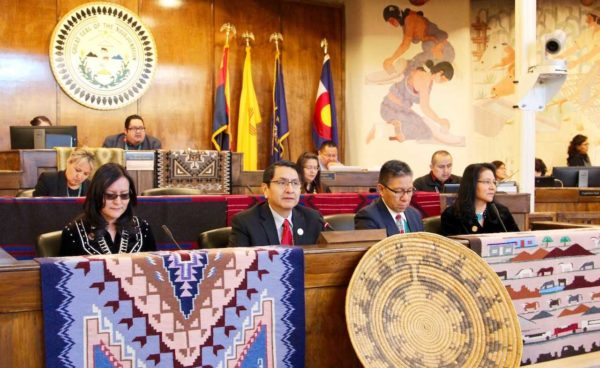 Nez-Lizer Present the Priorities of the NavajoPeople during the State of the Navajo Nation Address