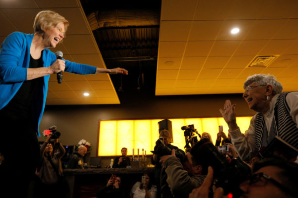 "Sen. Warren Answers Question on DNA Release in Iowa: ""I am Not a Person of Color"""