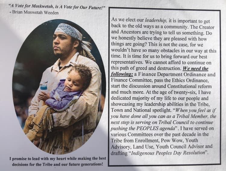 Mashpee Wampanoag Tribal Council Elections