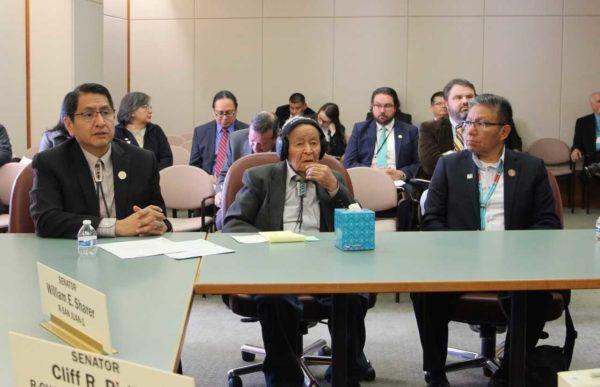 Navajo President President Nez Testifies in Support of Navajo Code Talker Museum Funding