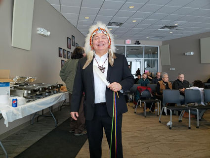 Dan King sworn in as Hereditary Chief for the Red Lake Nation