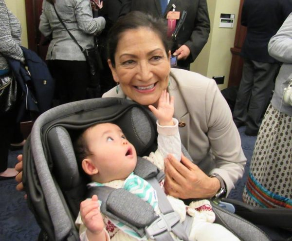 Photo of the Day: Rep. Deb Haaland Gains New Fan