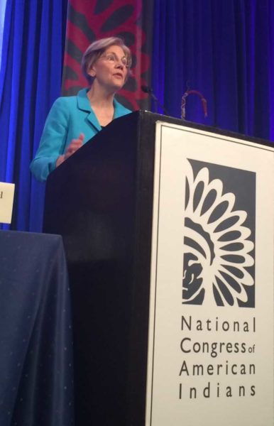 NYT: Elizabeth Warren Apologizes to Cherokee Nation for DNA Test