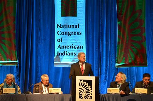 Sen. Hoeven Outlines Committee Agenda at National Congress of American Indians