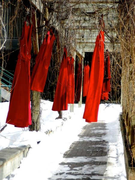 """National Museum of the American Indian Presents """"The REDress Project"""" To Raise Awareness for Missing and Murdered Indigenous Women"""