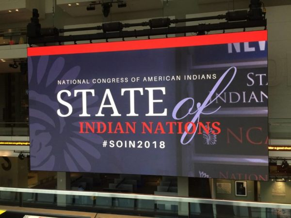 State of Indian Nations Address Set for Monday, Feb. 11th: NCAI President Jefferson Keel and U.S. Representative Deb Haaland