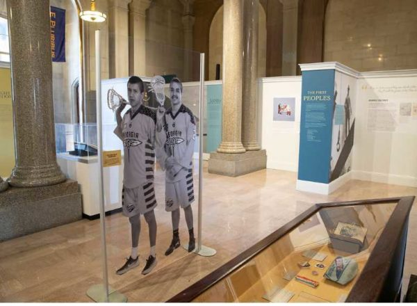 Lyle and Miles Thompson Featured at New York State Capitol in People of New York Exhibit