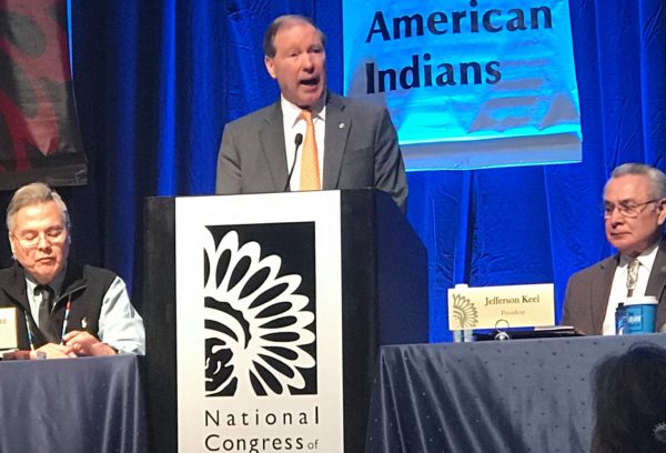 In Address to National Congress of American Indians, Udall Recommits to Fighting for Issues Vital to Indian Country