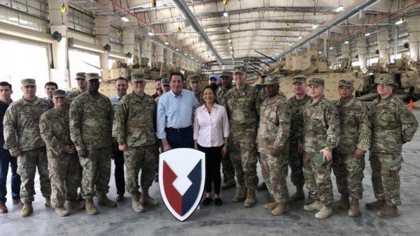 Rep. Haaland Travels to Middle East with House Armed  Services Committee Delegation