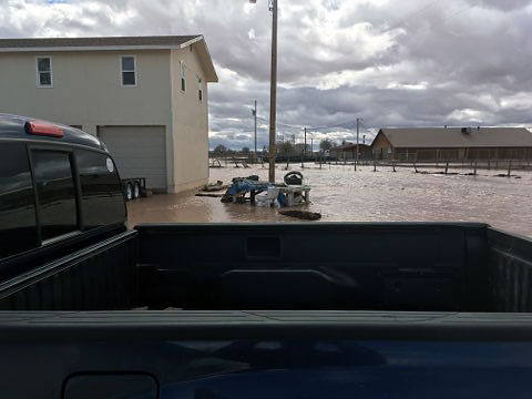Red Cross Helping Flooding Victims in Chinle