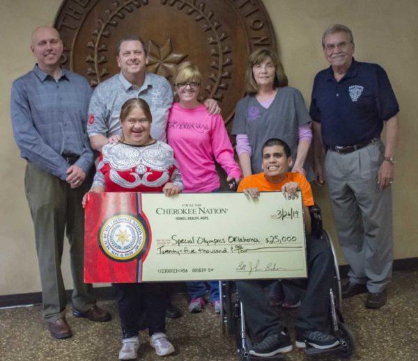 Cherokee Nation Donates $25K to Special Olympics Oklahoma