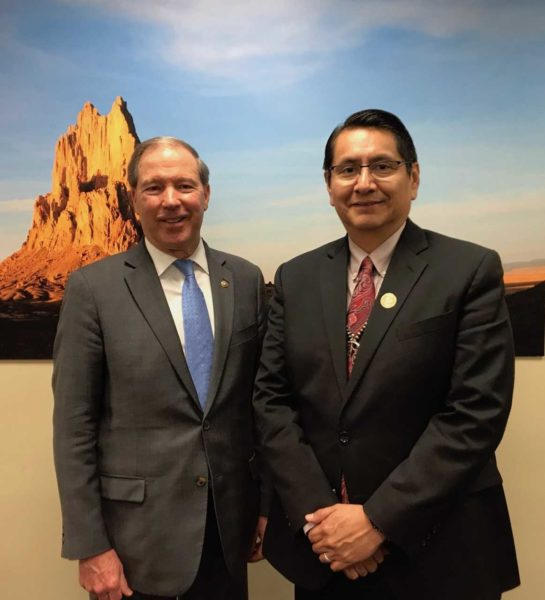 Navajo Nation Thanks Senator Udall for His Service