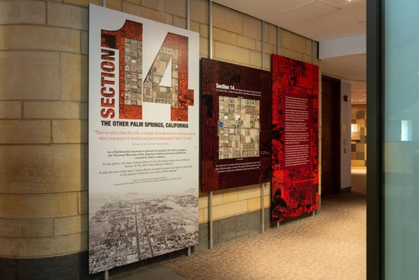 """National Museum of the American Indian Presents """"Section 14: The Other Palm Springs, California"""""""