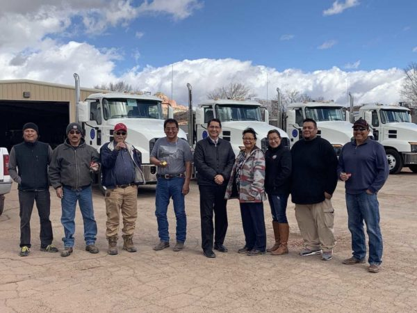 Navajo Nation Food Distribution Program Receives New Delivery Trucks