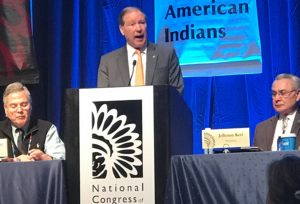Sen. Udall Presses Administration for Native Americans Commissioner on Climate Change, Speaks with Tribes about Cultural Impacts of the Native American Programs Act