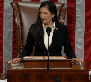Rep. Haaland Marks 100 Days in Office with House Floor Speech