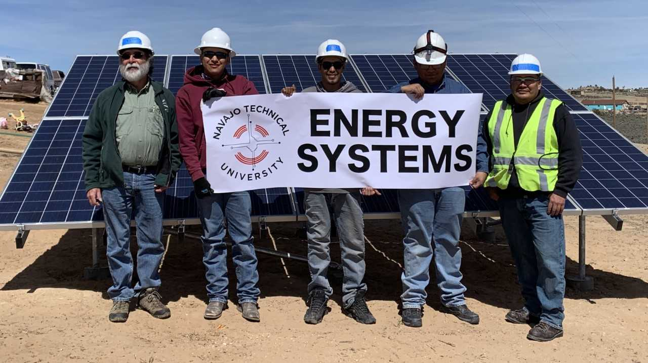 NTU Students Team Up with GRID Alternatives to Install Solar Panels in Ojo Encino