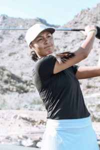 Native American Golfer, Texas Tech Graduate, and Education Firm Work the Youth