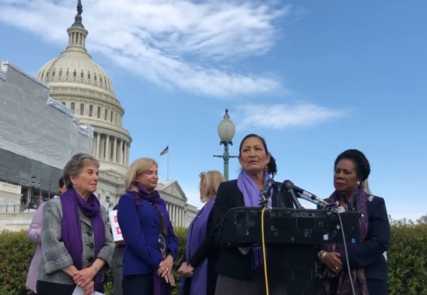 Rep. Haaland Celebrates House Passage of the VAWA Reauthorization