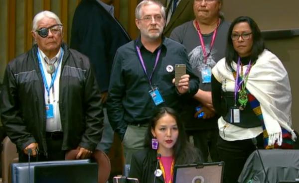 Statement in Support of Leonard Peltier's Release Read at UN