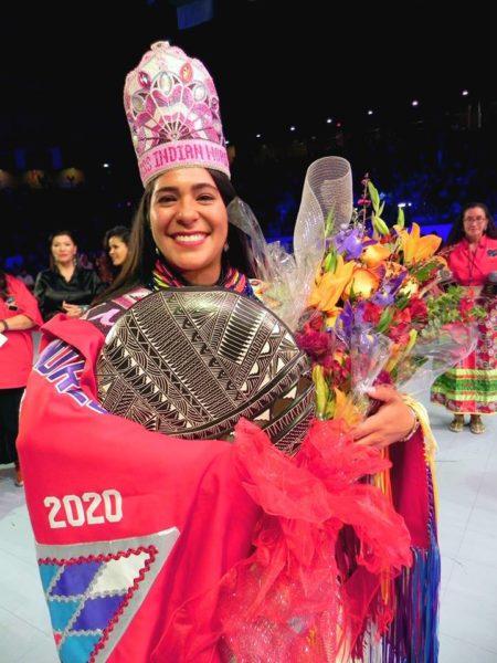 Seminole Cheyenne Kippenberger Crowned Miss Indian World 2019-2020