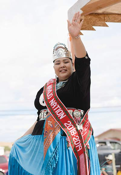 Miss Navajo: $24,000 of Own Funds Spent