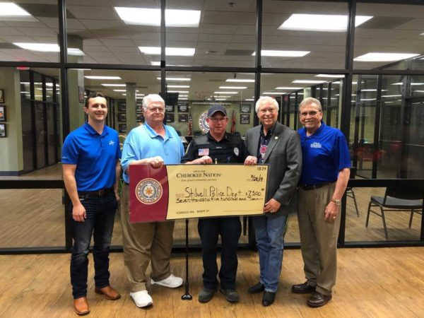 Cherokee Nation Donates $30,000 to Adair County Law Enforcement