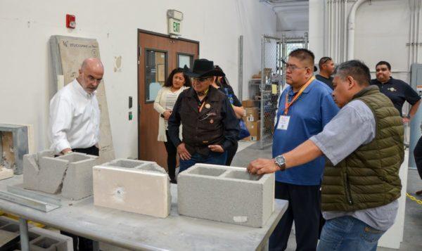 Navajo Nation Council Delegates Tour House Manufacturing Facility