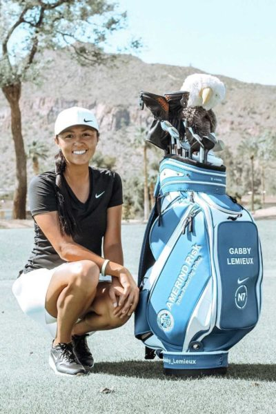 Tribally-owned Insurance Provider, AMERIND Risk, Partners with Professional Golfer Gabby Lemieux