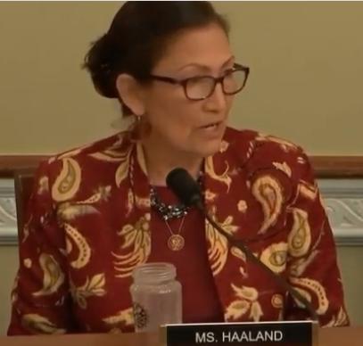 Rep. Haaland Presses Trump Interior Secretary on Lack of Tribal Consultation