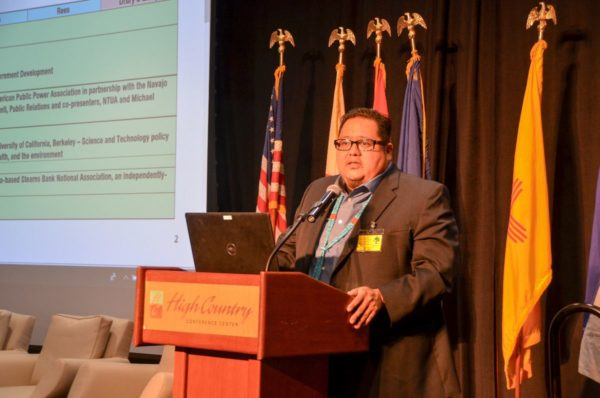 Navajo Nation Speaker Damon Advocates for Traditional Values to Guide Sustainable Governance, Existence at Symposium