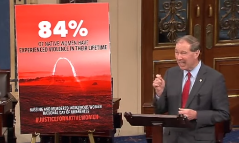 Sen. Udall Leads Day of Action to Confront the Crisis of Missing & Murdered Indigenous Women