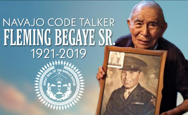 Navajo Nation Mourns Passing of Navajo Code Talker Fleming Begaye, Sr.