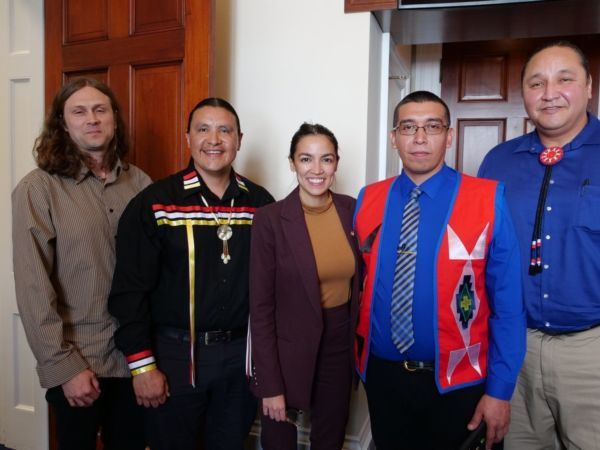 Oglala Sioux Tribal Officials Meet with AOC